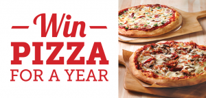 Win Free Pizza