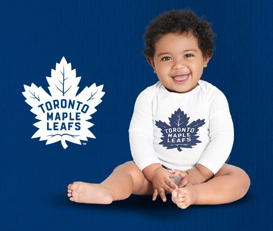 super popular 16b86 a9bb3 FREE Toronto Maple Leafs Baby Onesie! Hurry before they are ...