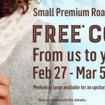 Free McDonald's Coffee