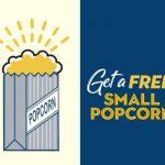 free small popcorn