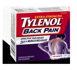 Free Tylenol Back Pain Sample