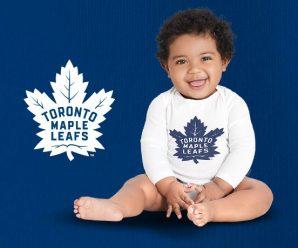 FREE Toronto Maple Leafs Baby Onesie