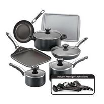 Win FREE Farberware Non-Stick 17-Piece Cookware Set