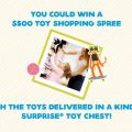 Win Kinder Surprise Toy Shopping Spree Contest