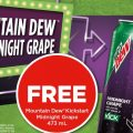 Free Mountain Dew