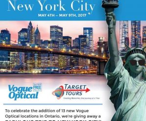 Win Trip to New York City