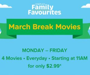 March Break Movie Deals