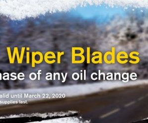 Mr. Lube Free Wiper Blades